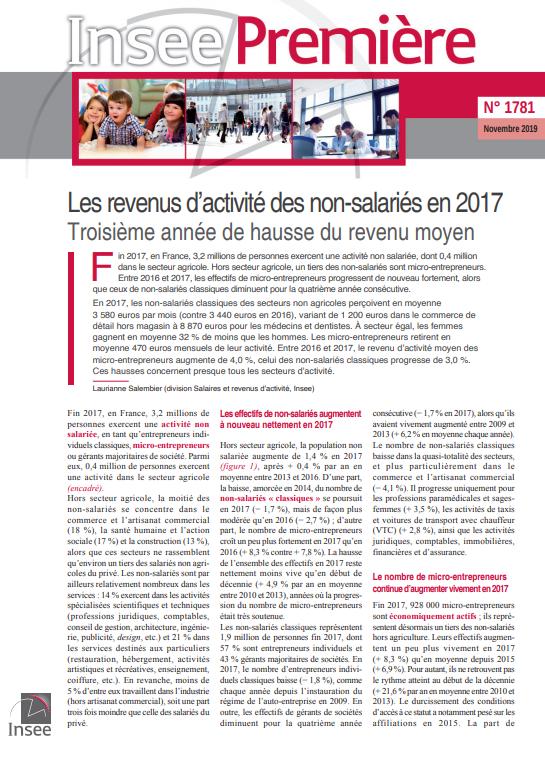 les-revenus-dactivite-des-non-salaries-en-2017