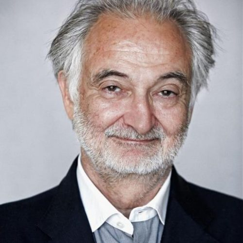 Jacques Attali, economiste, ecrivain president de la fondation Positive Planet